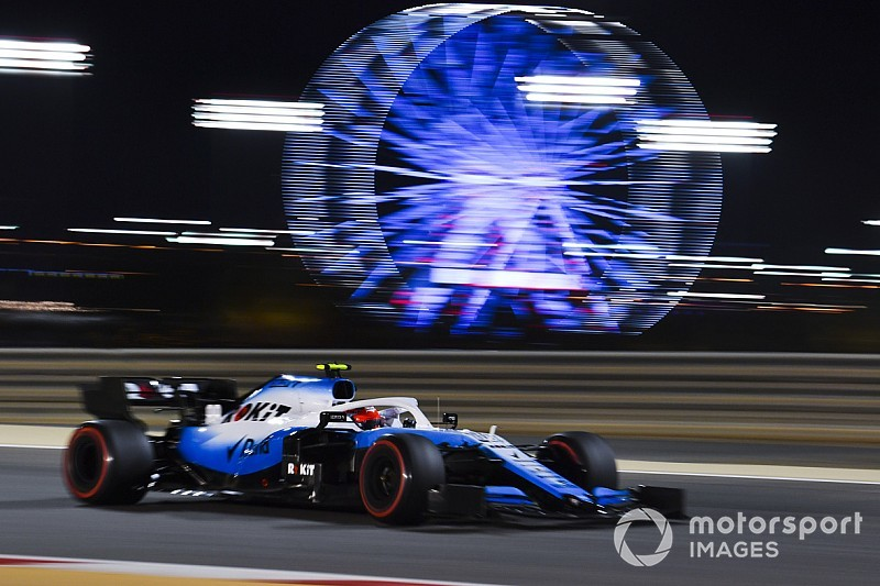 Kubica says gap to Russell in Bahrain misleading