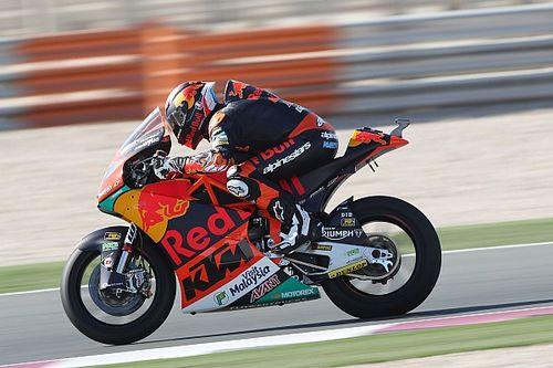 FP3 Moto2 Qatar: Martin teratas, Dimas posisi sama