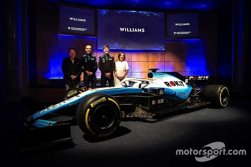 A Williams is bemutatta a 2019-es F1-es festését: új névadó a csapatnál
