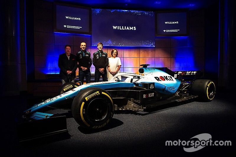 Williams reveals its 2019 F1 livery
