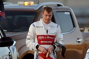 """Kimi diz que transição da Ferrari para Alfa Romeo tem sido """"fácil"""""""