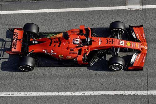 """Leclerc s'est """"vraiment amusé"""" au volant de la Ferrari SF90"""