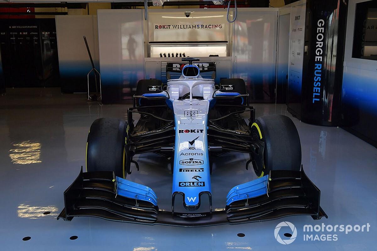 Fotos: Williams por fin se estrena en Barcelona... dos días y medio después