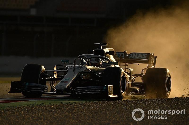 """El nuevo Mercedes """"se nota diferente"""" al del año pasado, dice Hamilton"""