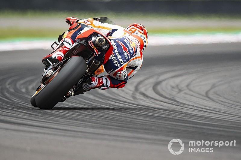 Márquez lidera la tercera práctica en Termas