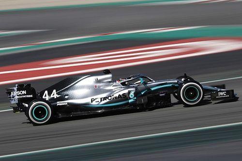 Fotogallery F1: la Mercedes W10 ha impressionato nei test invernali 2019 di Barcellona