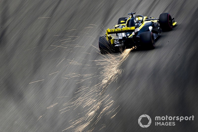 Renault F1 disposera de nouveautés en Azerbaïdjan