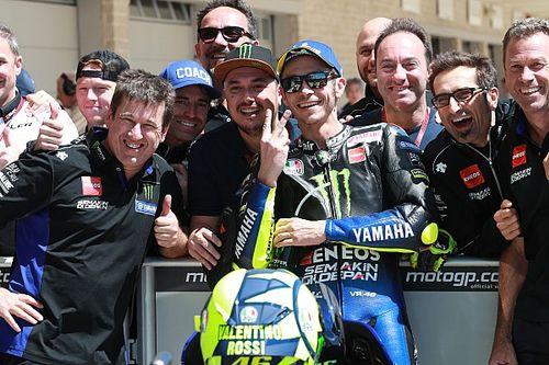 Rossi retrouve la première ligne mais garde des doutes