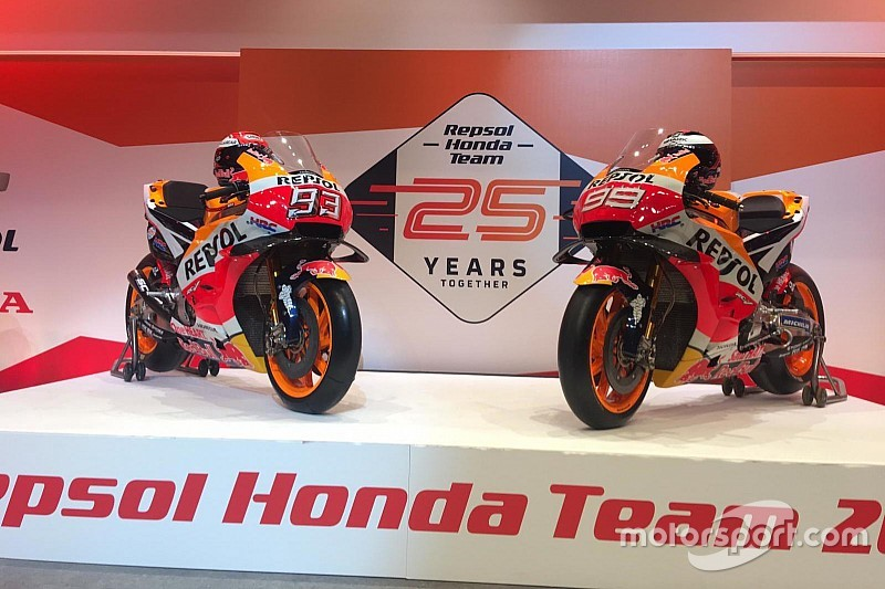 Galería Repsol Honda Desvela La Nueva Moto De Márquez Y Lorenzo