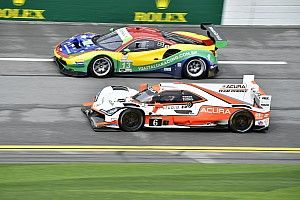 Taylor surprised Acura split Mazdas in Rolex 24 qualifying