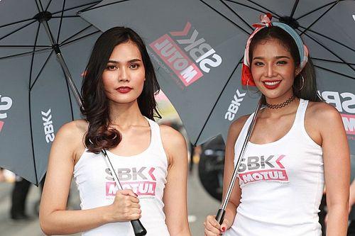 Fotogallery: ecco le ombrelline della tappa di Buriram della Superbike