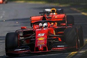 """Vettel: Ferrari tinha """"bem menos aderência"""" que nos testes"""