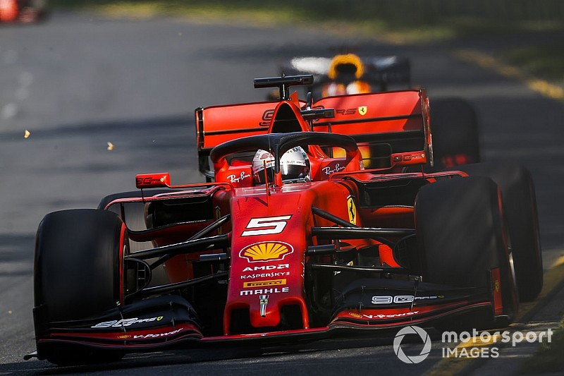 "Vettel: Ferrari had ""way less grip"" than in testing"