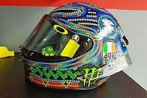 Rossi se inspira na arte Huichol para desenho de capacete