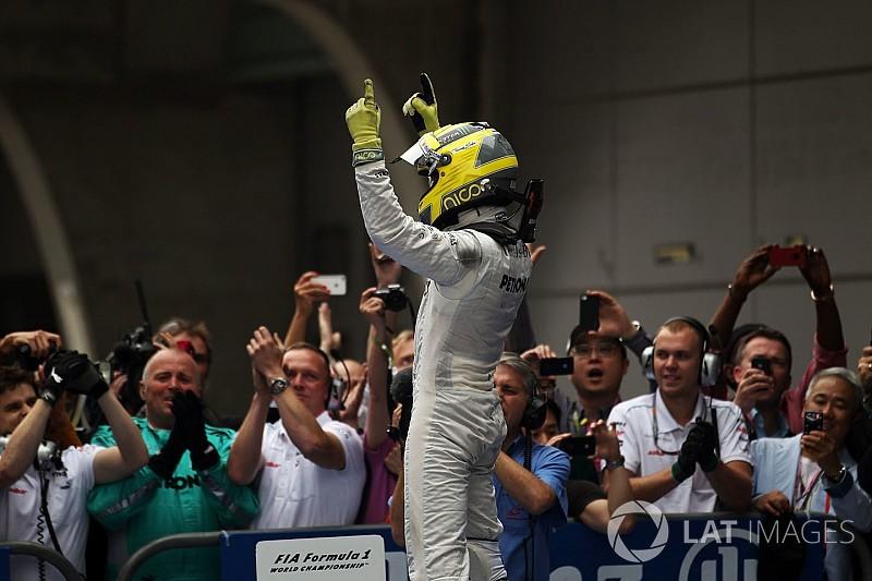Как это было: историческая победа Росберга и Mercedes в Шанхае