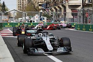 Azerbaijan Grand Prix weekend schedule