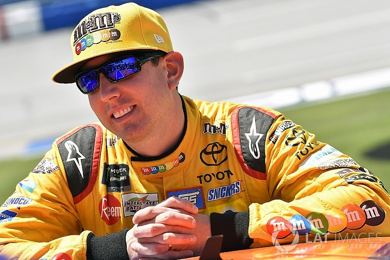 Kyle Busch's quest for fourth straight win ends at Talladega