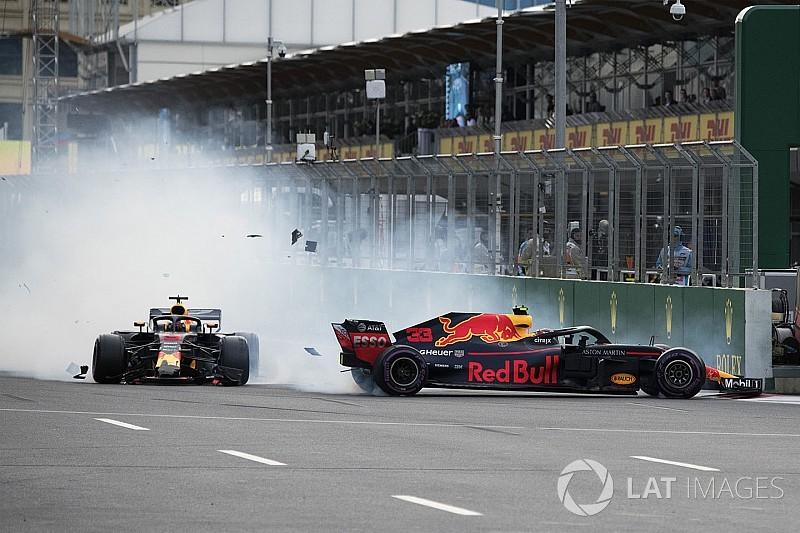 "Verstappen: ""Mi sono spostato troppo a Baku? Non mi interessa!"""