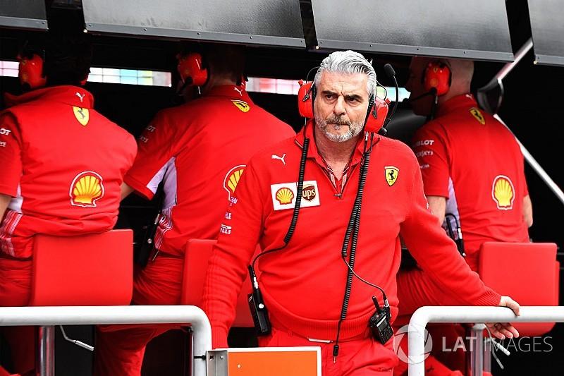 Arrivabene sobre los nuevos Pirelli: