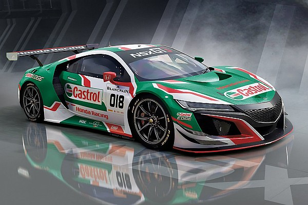 Blancpain Endurance Breaking news Honda NSX GT3 to make European debut at Spa