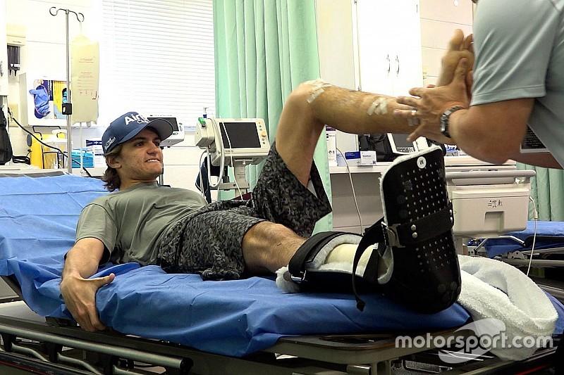 Как Фиттипальди возвращается в гонки после перелома обеих ног