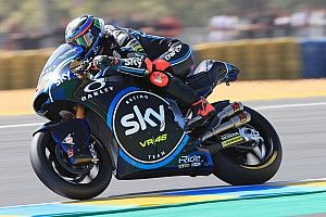 Bagnaia consigue en Le Mans su primera pole en Moto2