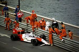 Az 1988-as Monacói Nagydíj, amikor Senna mágiája nem működött: felvételek