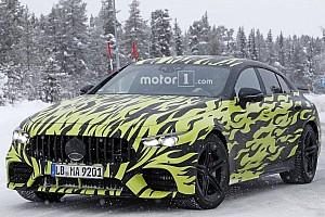 Automotive Breaking news 2019 Mercedes-AMG GT four-door coupe fleet gets stalked