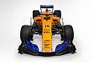 F1 迈凯伦MCL33橙色涂装亮相
