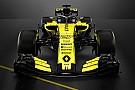 Formule 1 Renault stelt nieuwe Formule 1-wagen voor