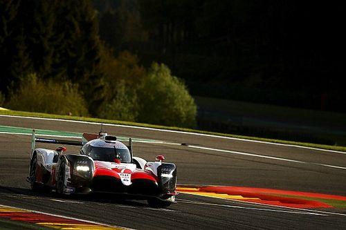 Toyota domina classificação em Spa