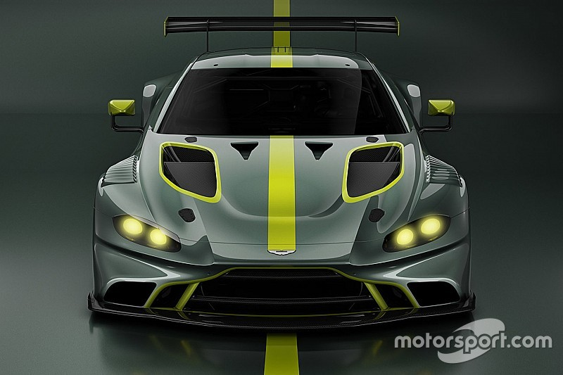 Aston Martin представит машину GT3 нового поколения