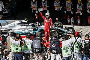 Story behind the photo: Vettel and Ferrari return to winning ways