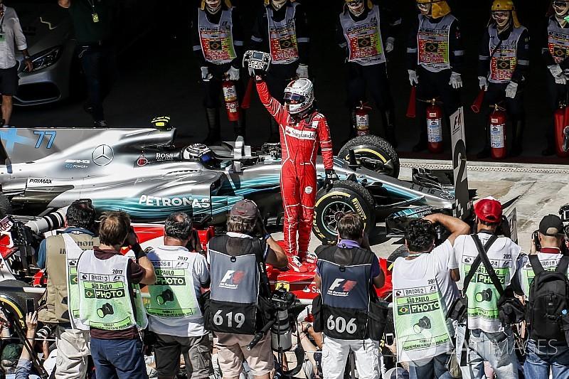 Story behind the photo: Vettel and Ferrari return to winning ways