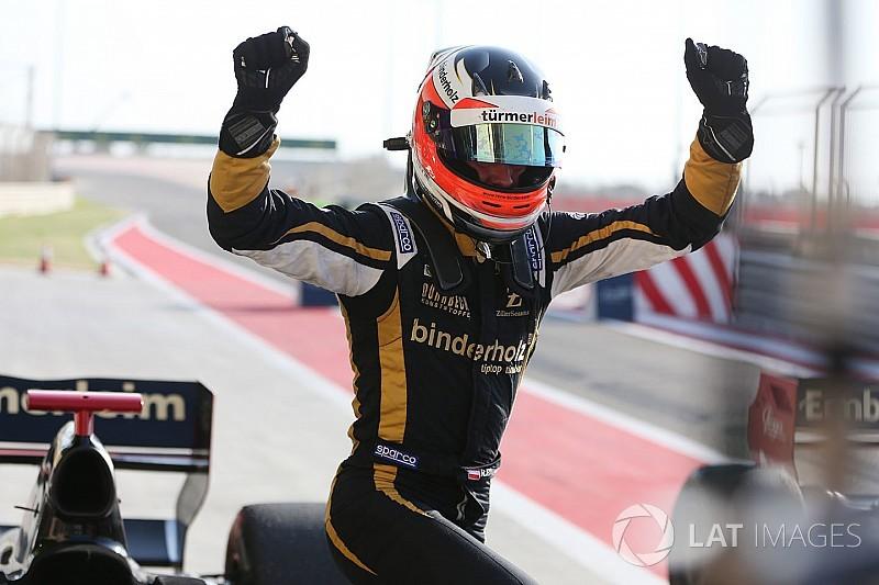 Binder batte Fittipaldi nell'ultima gara della Formula V8 3.5 in Bahrain
