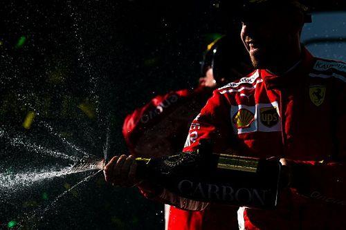 Vettel: Mercedes şu anda Ferrari ve Red Bull'un önünde