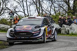 WRC Etappenbericht WRC Rallye Frankreich 2018: Loeb mit Unfall, Ogier an der Spitze