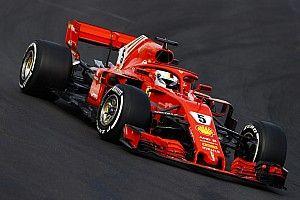 Ferrari mejora en el segundo día en Barcelona