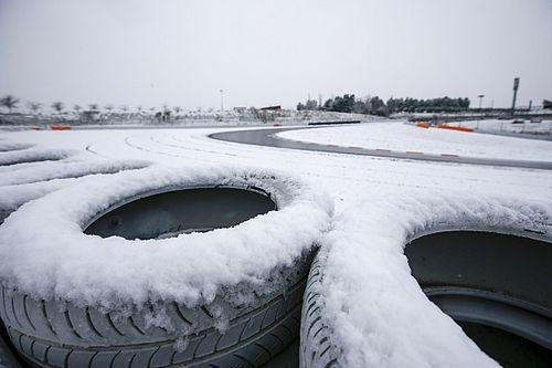 Formel-1-Test Barcelona: Beginn wegen Schnee verschoben