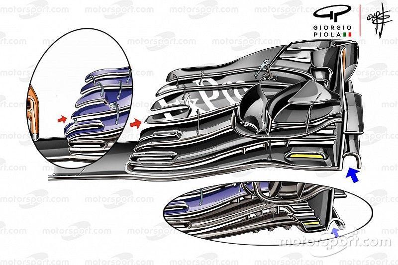 Los experimentos de McLaren para solucionar sus problemas