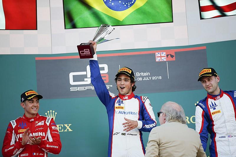 Pedro Piquet se estrena en la GP3 con una sólida victoria