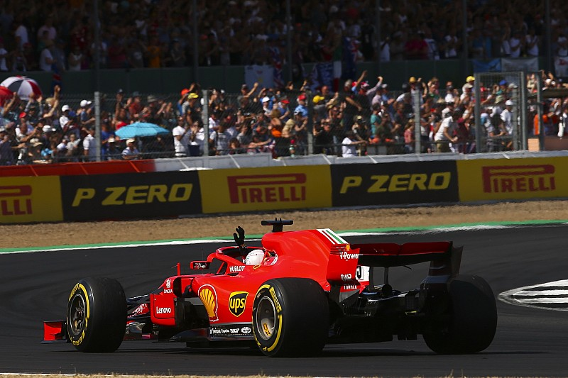 Vettel pályabejárása az F1-es játékban, Halo nélkül