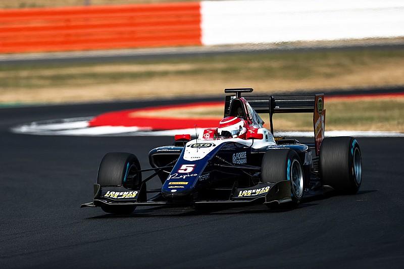 GP3 Silverstone: Eerste overwinning voor Pedro Piquet