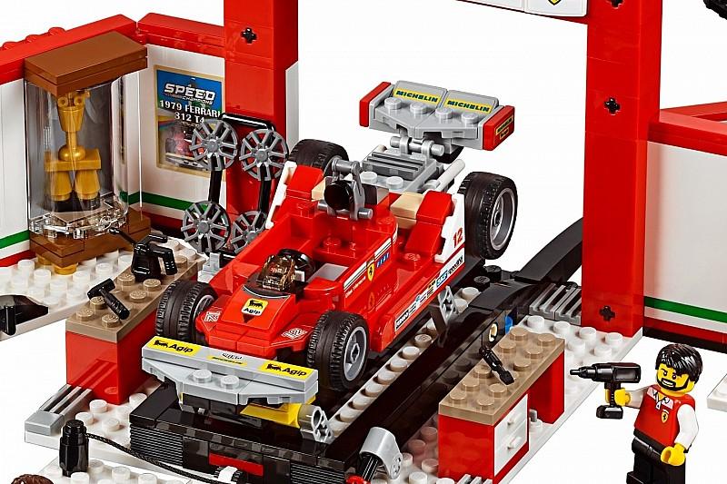 Lego hadirkan miniatur Ferrari Gilles Villeneuve