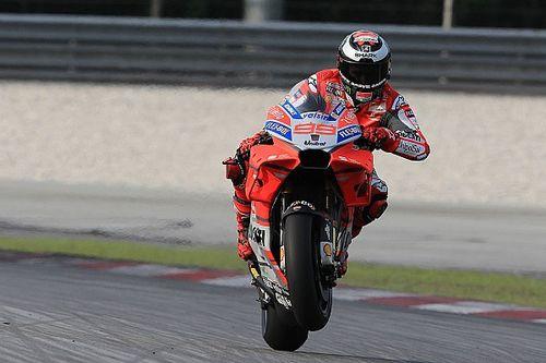 """Rossi onder indruk van Lorenzo: """"Ducati heeft de beste motor"""""""