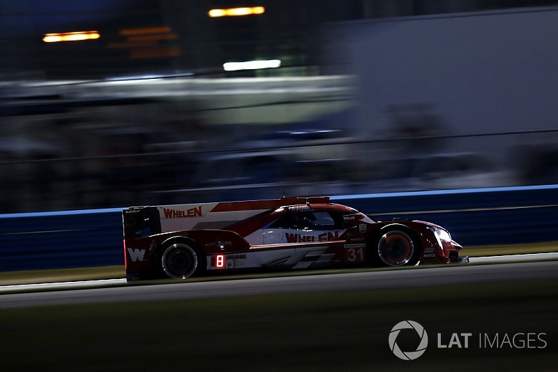 Rolex 24, Hour 6: Conway stars in wet, takes lead
