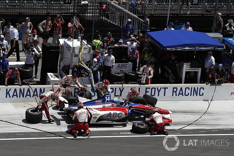 """""""They knew we were here,"""" says Foyt after Kanaan stars at Indy"""