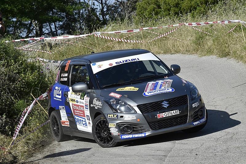 Suzuki Rally Trophy al Rally di Roma Capitale: sarà sfida tra Cogni e Martinelli