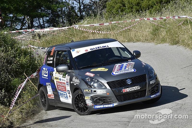 Suzuki Rally Trophy: al Rally Elba Giorgio Cogni cala il tris