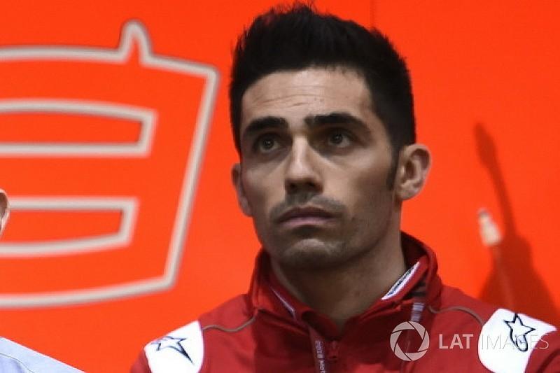 Michele Pirro, bajo observación después de su caída en MotoGP